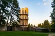 Ansicht des Monuments der Opfer des Faschismus in Kozara