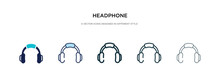Headphone Icon In Different St...