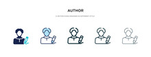 Author Icon In Different Style...