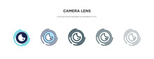 Camera Lens Icon In Different ...
