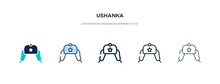Ushanka Icon In Different Styl...