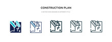 Construction Plan Icon In Diff...