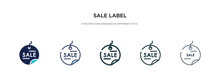 Sale Label Icon In Different S...