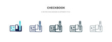 Checkbook Icon In Different St...