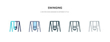 Swinging Icon In Different Sty...