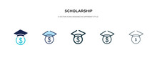 Scholarship Icon In Different ...