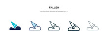 Fallen Icon In Different Style...