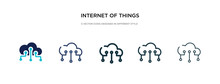 Internet Of Things Icon In Dif...