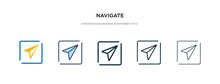 Navigate Icon In Different Sty...