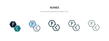 Runes Icon In Different Style ...