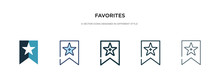Favorites Icon In Different St...