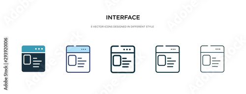 interface icon in different style vector illustration. two colored and black interface vector icons designed in filled, outline, line and stroke style can be used for web, mobile, ui