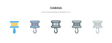 Cabasa Icon In Different Style...