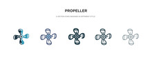 Propeller Icon In Different St...