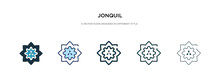Jonquil Icon In Different Styl...