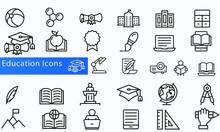 Education Icon Vector Design B...