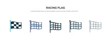 Racing Flag Icon In Different ...