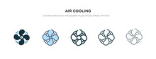 Air Cooling Icon In Different Style Vector Illustration. Two Colored And Black Air Cooling Vector Icons Designed In Filled, Outline, Line And Stroke Style Can Be Used For Web, Mobile, Ui