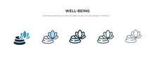 Well-being Icon In Different S...