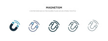 Magnetism Icon In Different St...