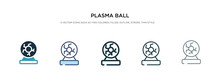 Plasma Ball Icon In Different ...