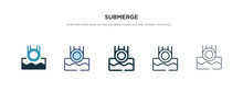 Submerge Icon In Different Sty...
