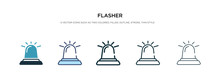 Flasher Icon In Different Styl...
