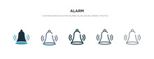 Alarm Icon In Different Style ...