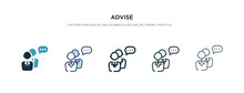 Advise Icon In Different Style...