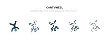 Cartwheel Icon In Different St...
