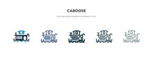 Caboose Icon In Different Styl...