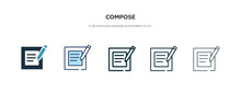 Compose Icon In Different Styl...
