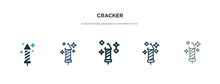 Cracker Icon In Different Styl...