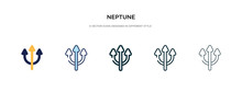 Neptune Icon In Different Styl...