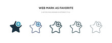 Web Mark As Favorite Star Icon...