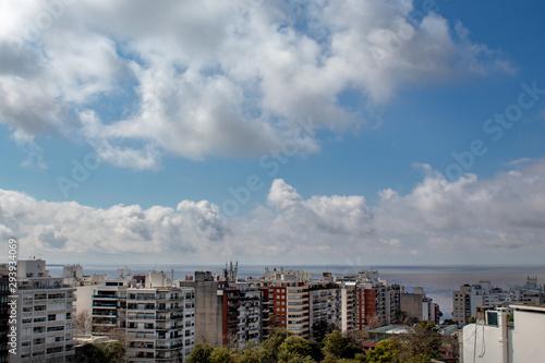 Photo Vista dos edifícios de Punta Carretas, Montevidéu, Uruguai