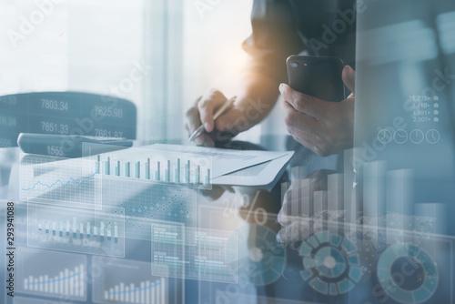 Fototapeta Business analysis obraz