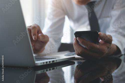 Fotografía  Business man working at office