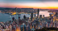 Hong Kong By Sunrise