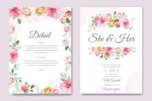 Wedding Invitation Card In Ele...