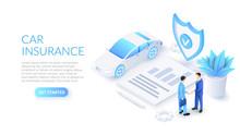 Car Insurance Design Concept W...