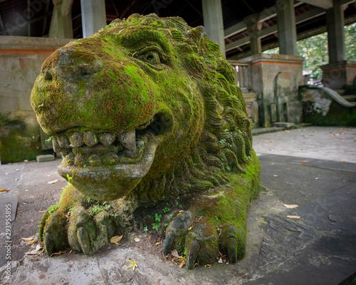 Photo Lion statue