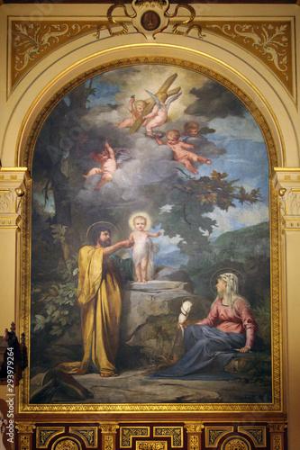 Fotografía  Holy Family, Church of the Holy Trinity, Paris
