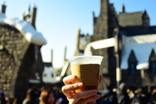 Hand On BUTTERBEER During The ...