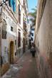 Niedliche kleine Seitenstraße in Essaouira