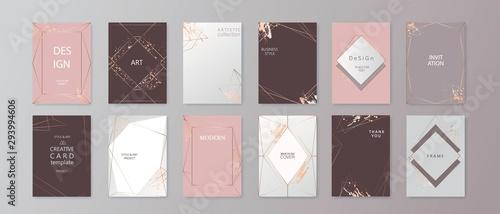 Cuadros en Lienzo Modern card design