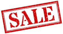 Sale Stamp. Sale Square Grunge...