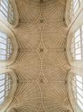 Beautiful architecture of Bath Abbey, Bath, UK