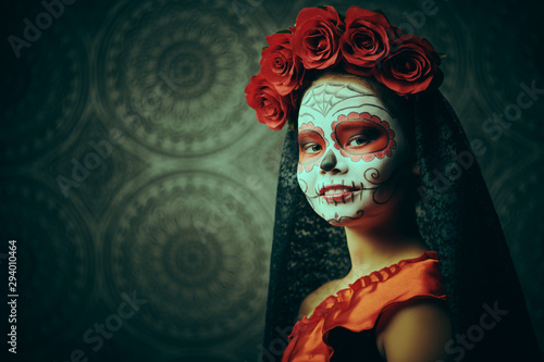 adorable little Muerta Canvas Print
