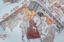 Ancient Wall-painting Of The T...